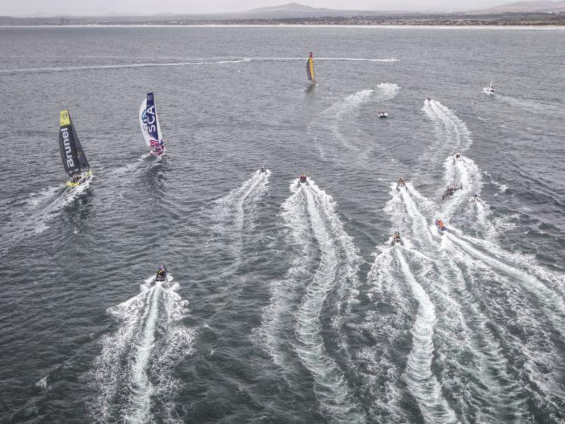 Trečiajame etape - seklumos ir silpnas vėjas