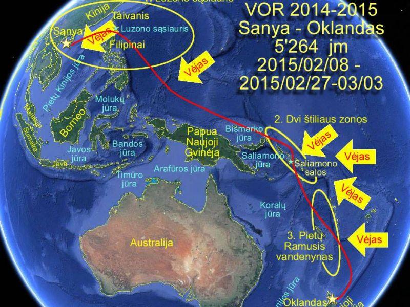 4-o etapo meteo-okeanografinė apžvalga (2015-02-04)