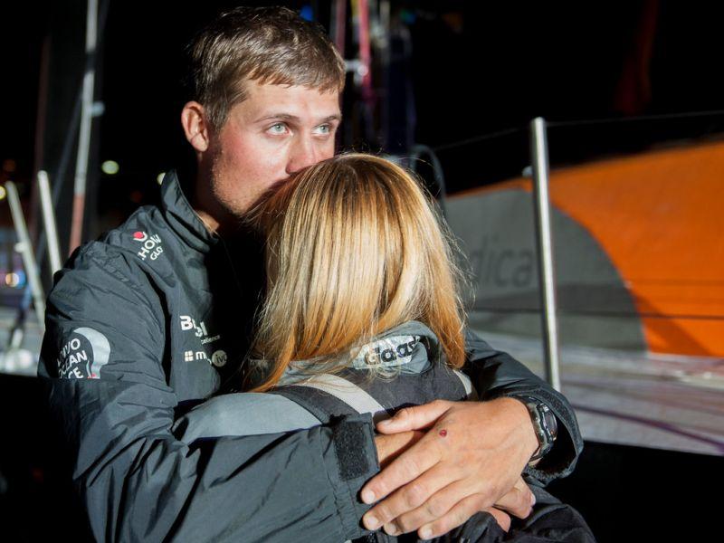 """Penktasis """"Volvo Ocean Race"""" etapas – įspūdingiausia, ką gali pasiūlyti buriavimas"""