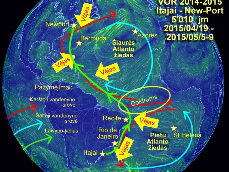 6-o etapo meteo-okeanografinė apžvalga (2015-04-19)