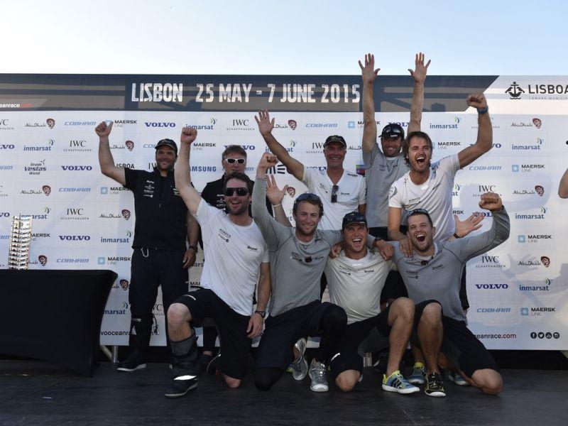 """Ilgai laukta pergalė: """"Team Brunel"""" buriuotojai Lisaboną pasiekė pirmi!"""